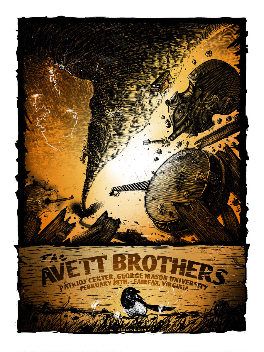 love the avett brothers Fairfax, VA 2014