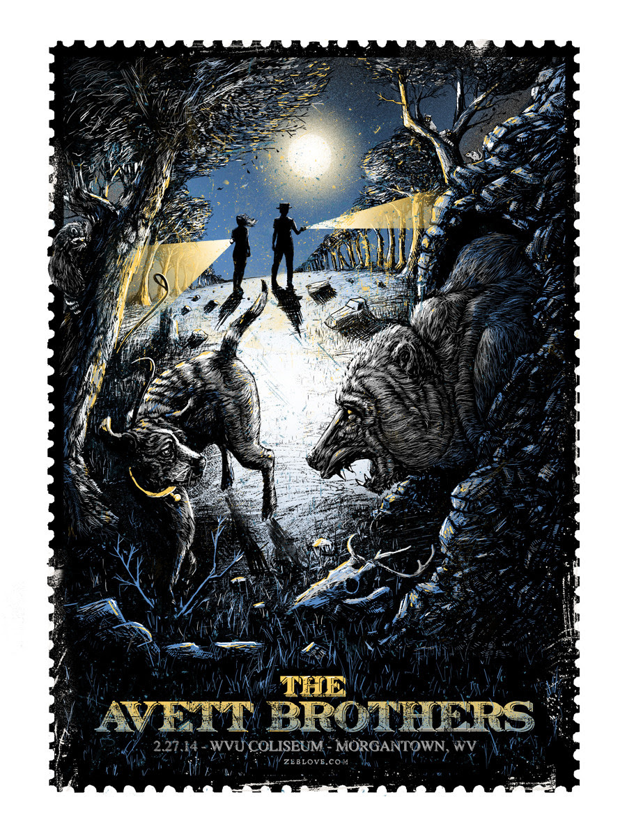 love the avett brothers Morgantown, WV 2014