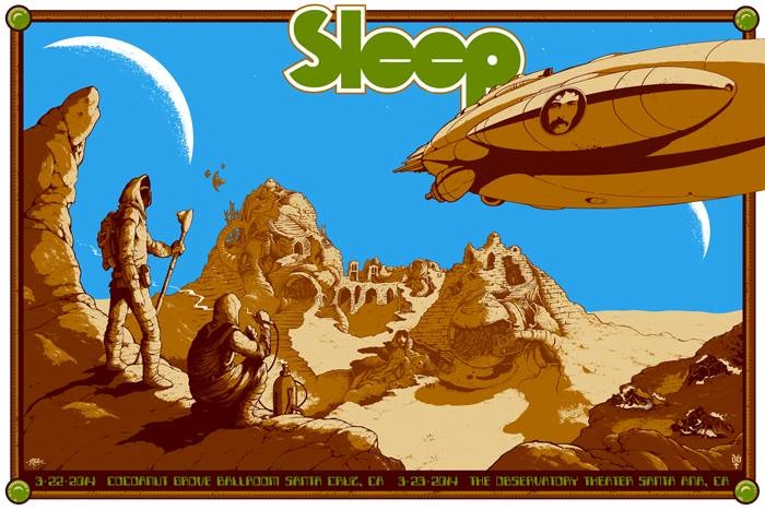 d'andrea roper Sleep - Santa Cruz, CA 2014