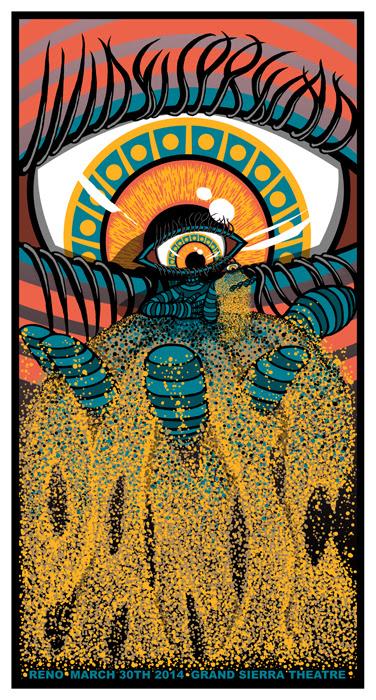 klausen Widespread Panic - Reno, NV 2014