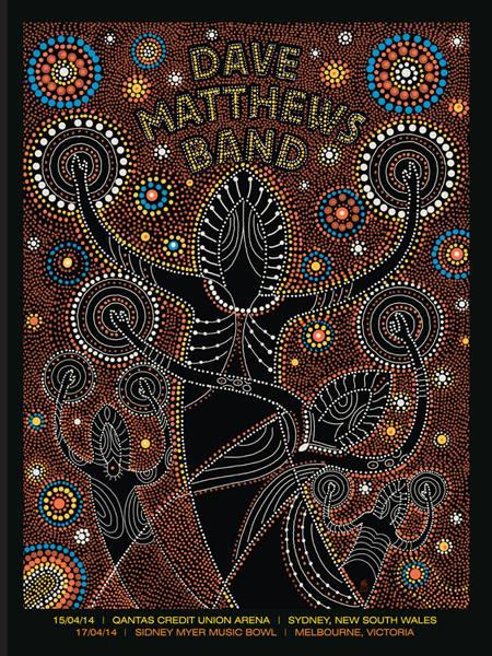 methane studios Dave Matthews Band - Australia 2014