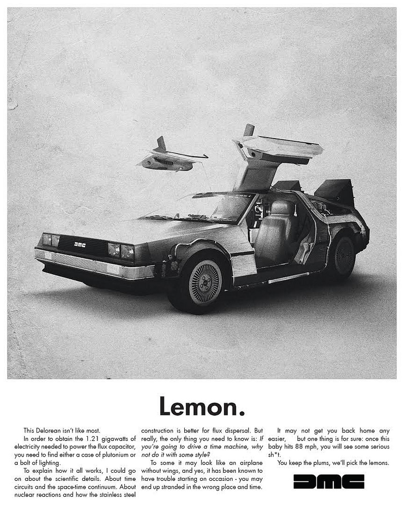 van genderen Lemon - Delorean