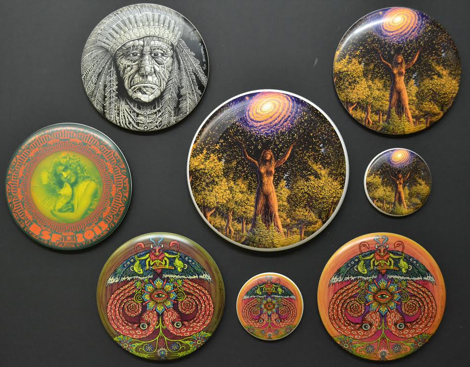 Mark Henson art discs 3