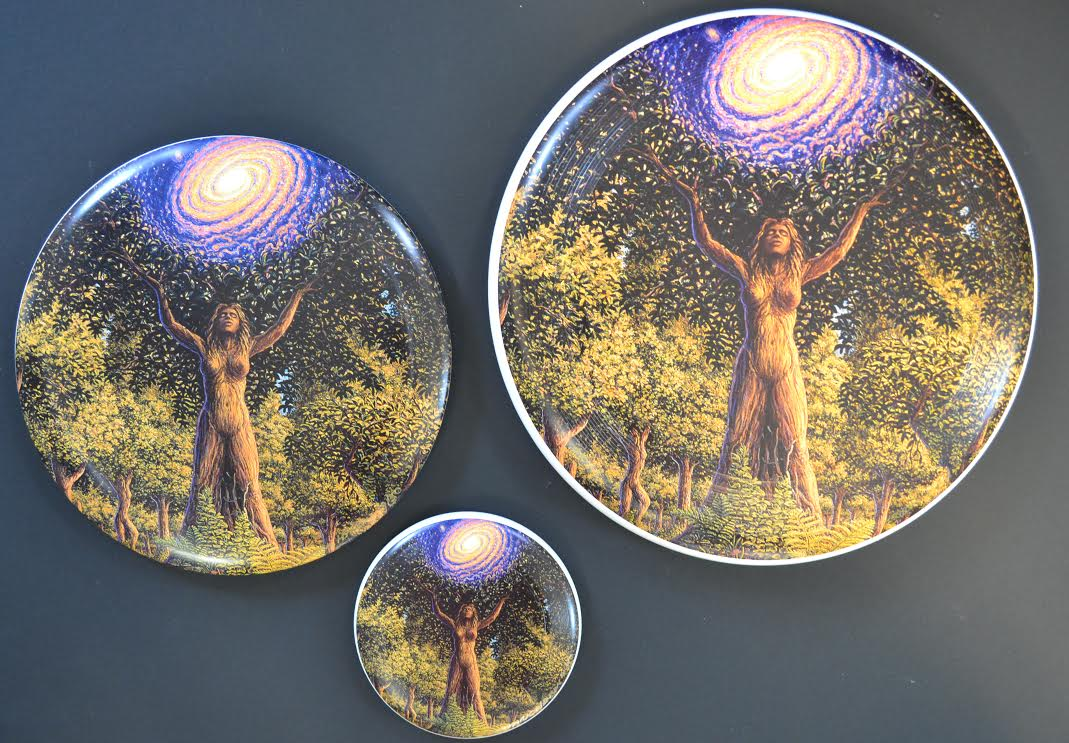 Mark Henson art discs