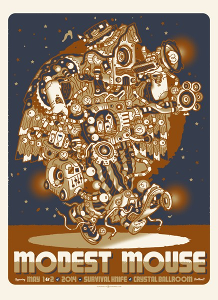 burwell modest mouse portland or 2014
