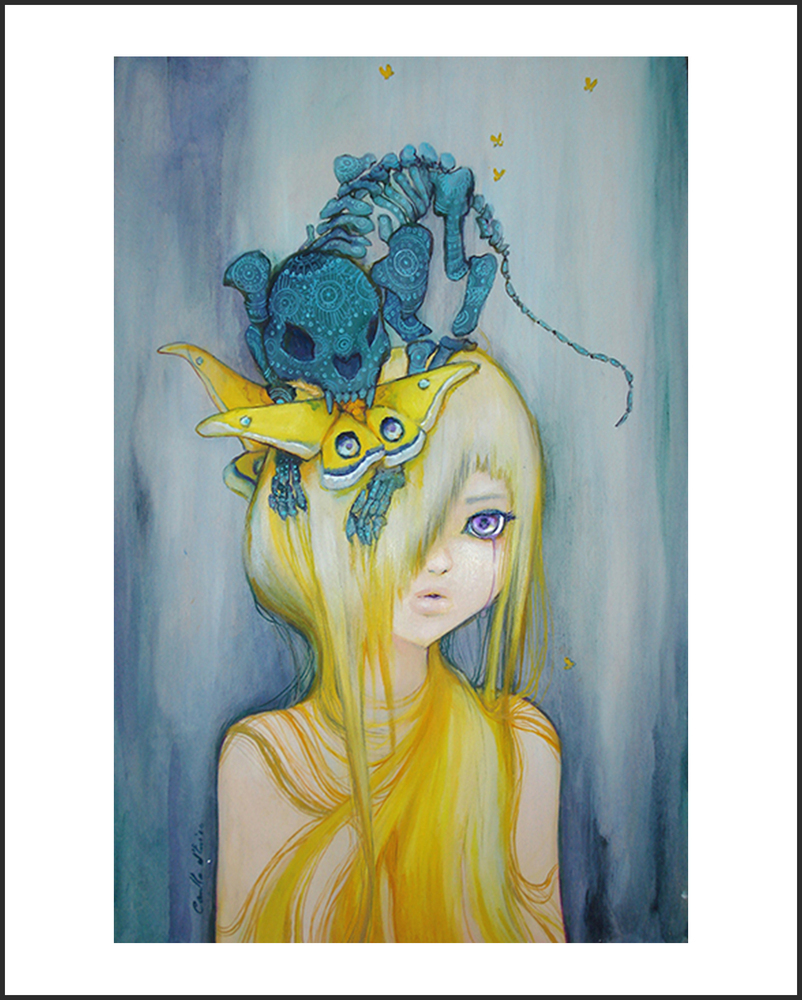 """Overtures of Grace"" by Camilla d'Errico.  Free 8"" x 10"" mini-print"