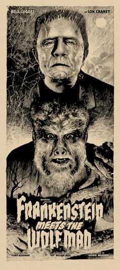 elvisdead frankenstein meets wolfman