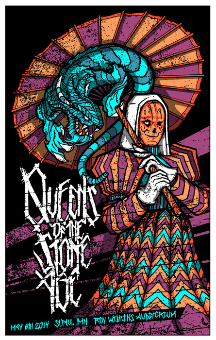 klausen Queens of the Stone Age st paul mn 2014