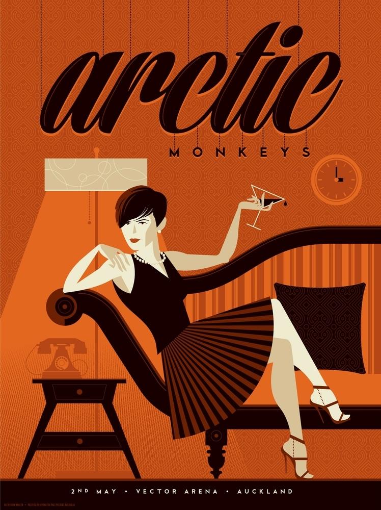 whalen Arctic Monkeys - Auckland NZ 2014