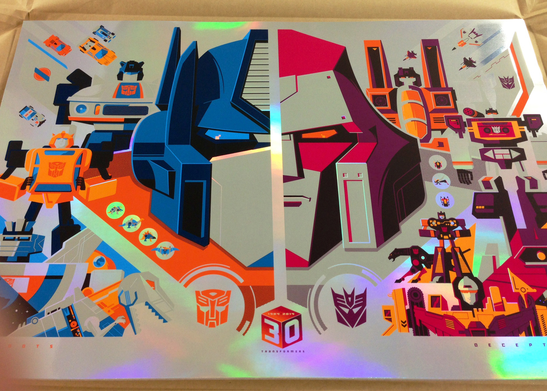 whalen Transformers 30th Anniversary foil