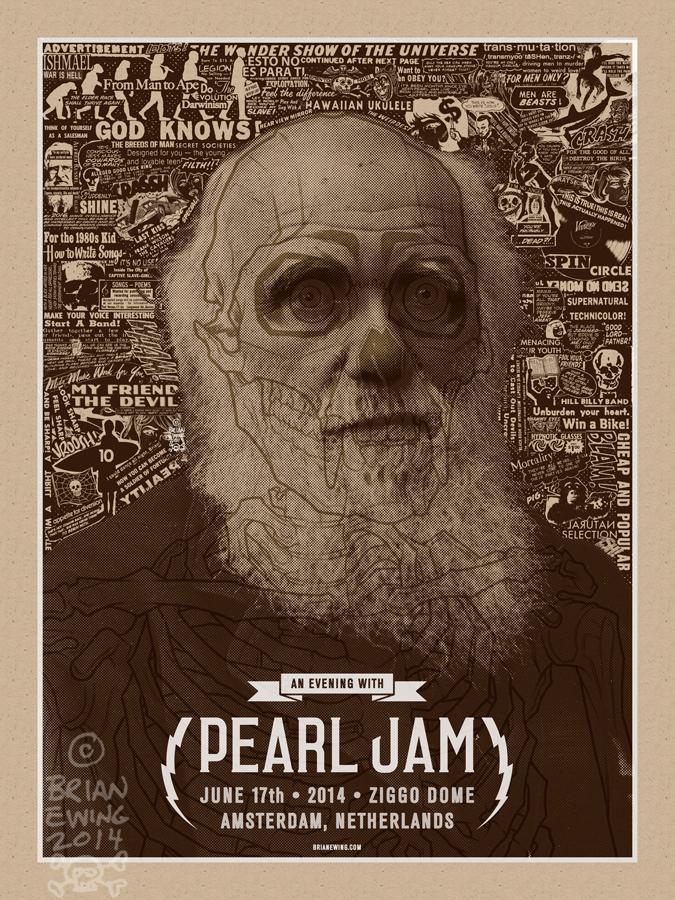 ewing Pearl Jam - Amsterdam 2014