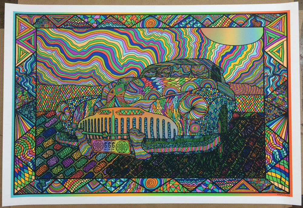 fuchs Riding In Cars With Acid