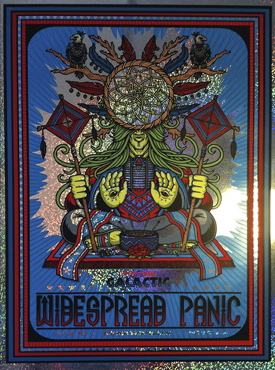 leunig Widespread Panic - Boston, MA 2014 sparkle