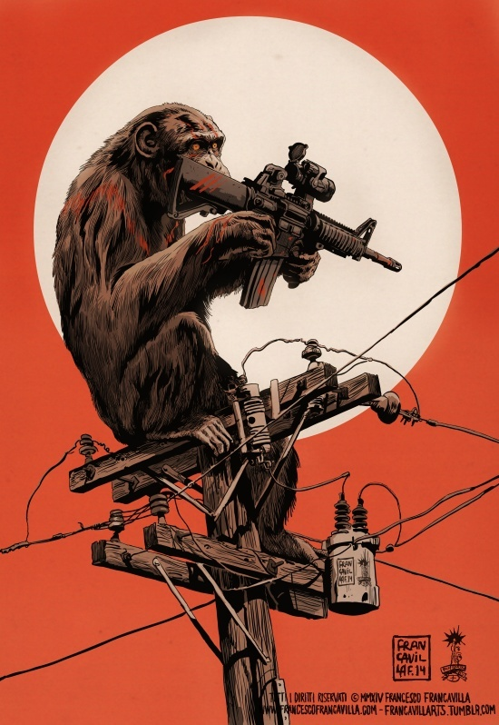 Francavilla power to the apes