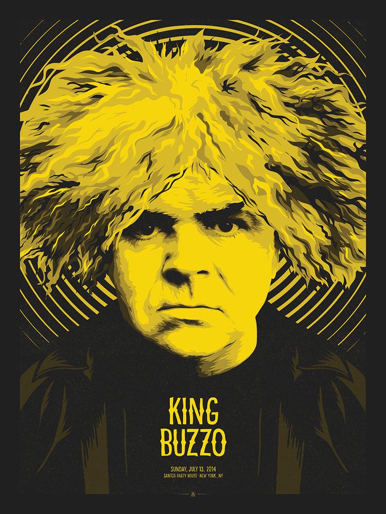 anonymous ink king buzzo new york ny 2014