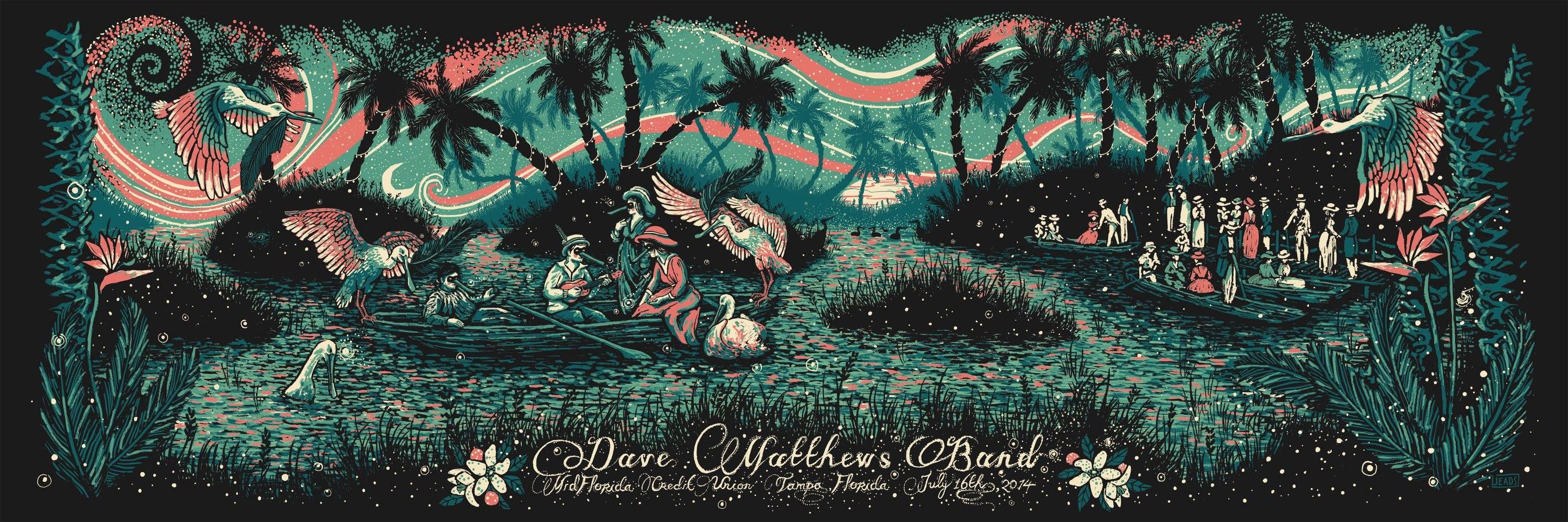 eads Dave Matthews Band - Tampa, FL 2014