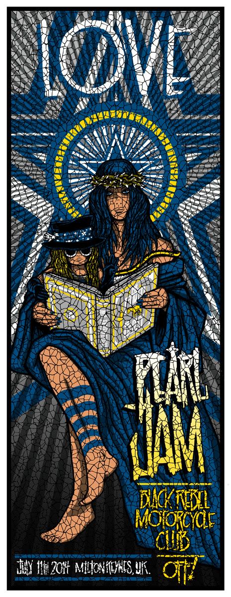klausen Pearl Jam - Milton Keynes, UK 2014
