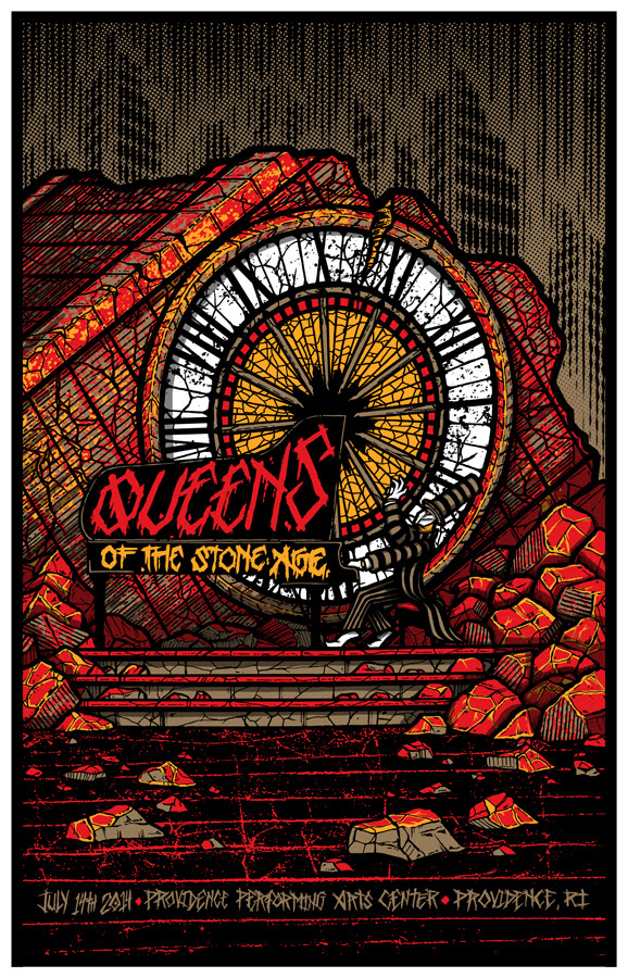 klausen Queens of the Stone Age - Providence, RI 2014