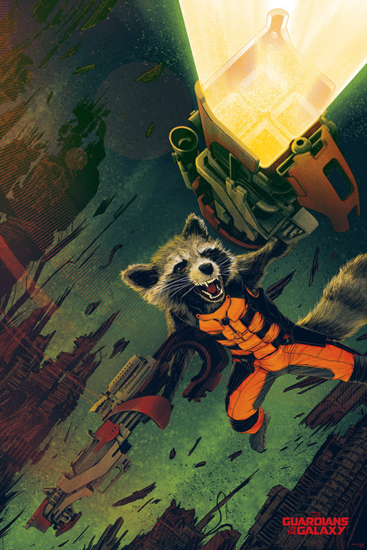 tong rocket raccoon