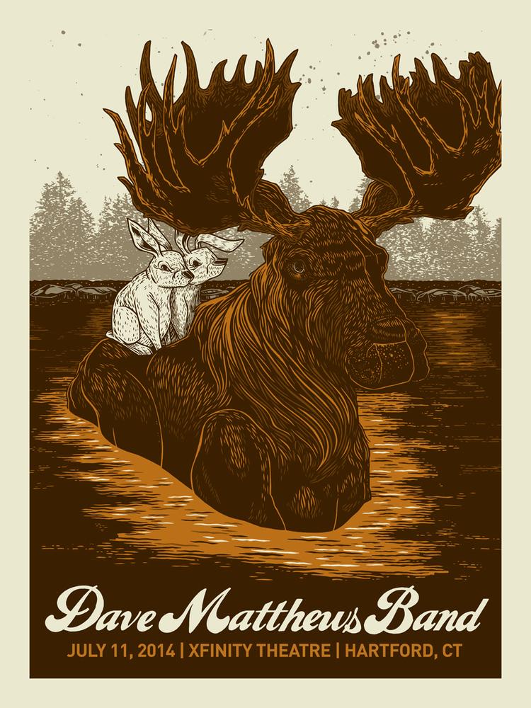 vogl Dave Matthews Band - Hartford, CT 2014