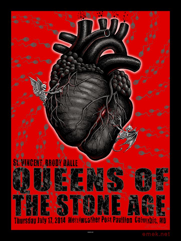 emek queens of the stone age columbia md 2014
