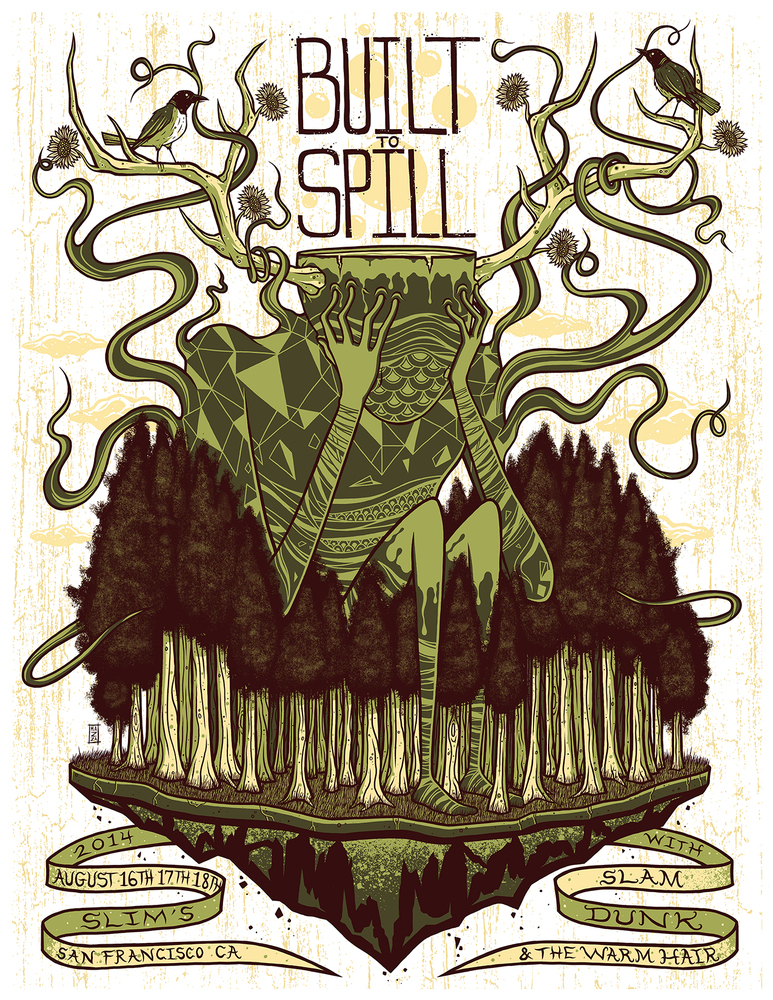 mazza built to spill san francisco ca 2014