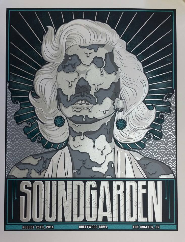 mazza soundgarden los angeles ca 2014