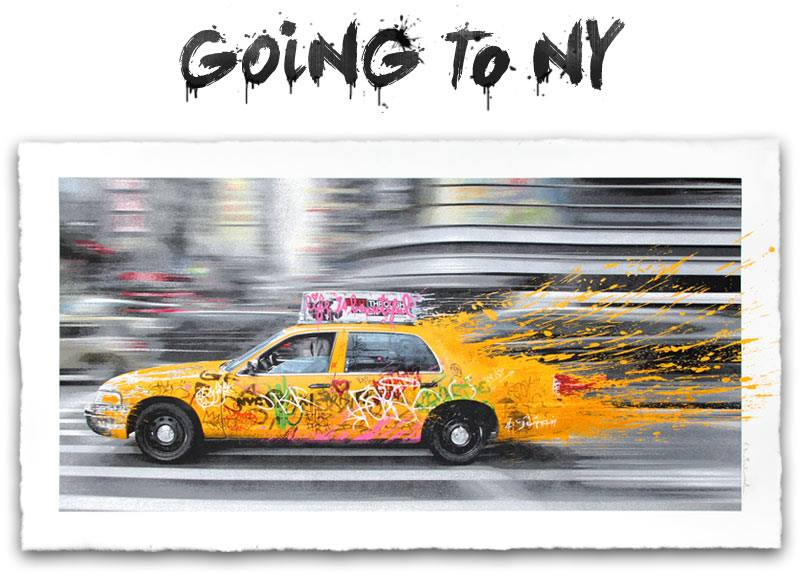 mr brainwash going to ny