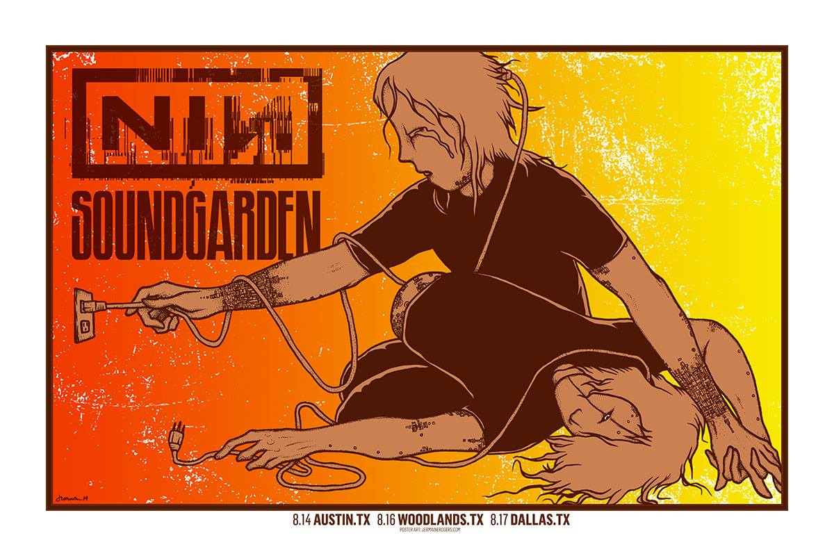 rogers NIN  Soundgarden Texas 2014