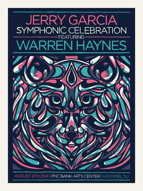 vogl Jerry Garcia Symphonic Celebration holmdel nj 2014