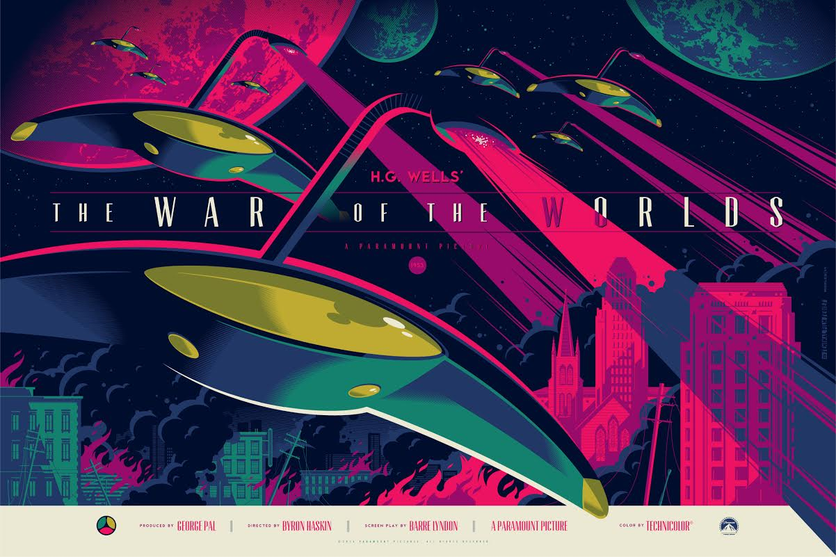 whalen The War of the Worlds variant