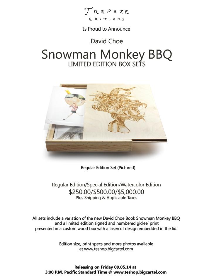 choe snowman monkey