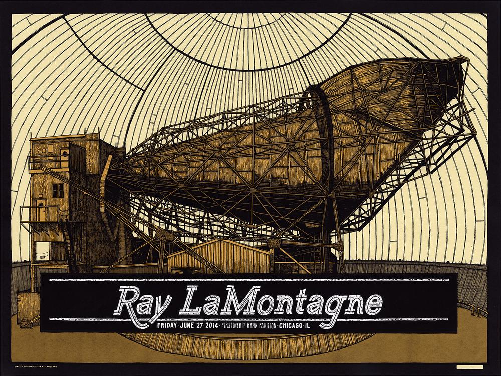 landland Ray LaMontagne chicago il 2014