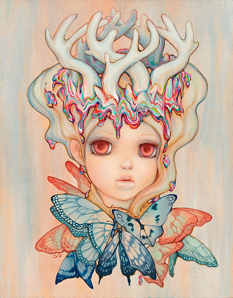 """Princess Tickle Trunk"" by Camilla d'Errico.  17"" x 22"" Giclee.  Ed of 25.  $75"