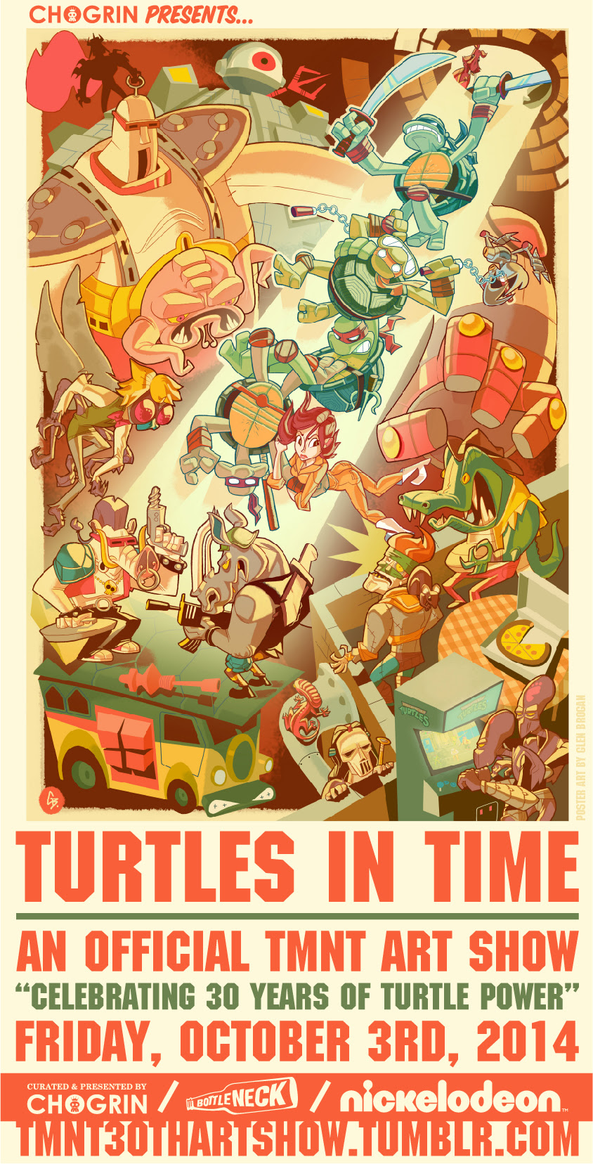 bottlneck gallery turtles in time