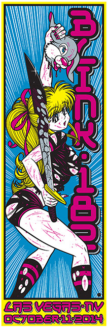 cliver Blink 182 - Las Vegas, NV 2014