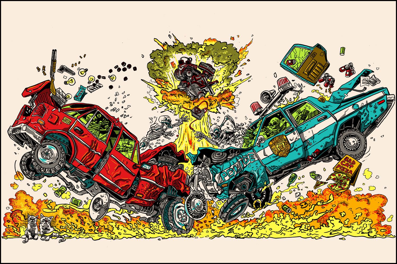doyle car crash city