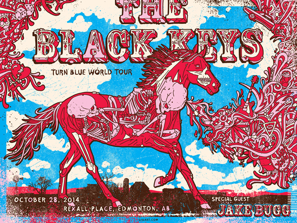 gigart The Black Keys - Edmonton, AB 2014