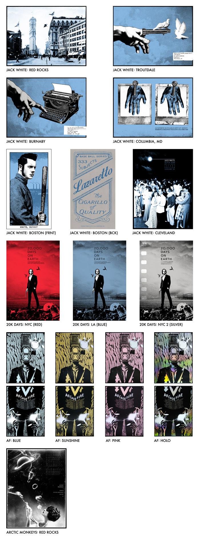 jones 14 gig posters
