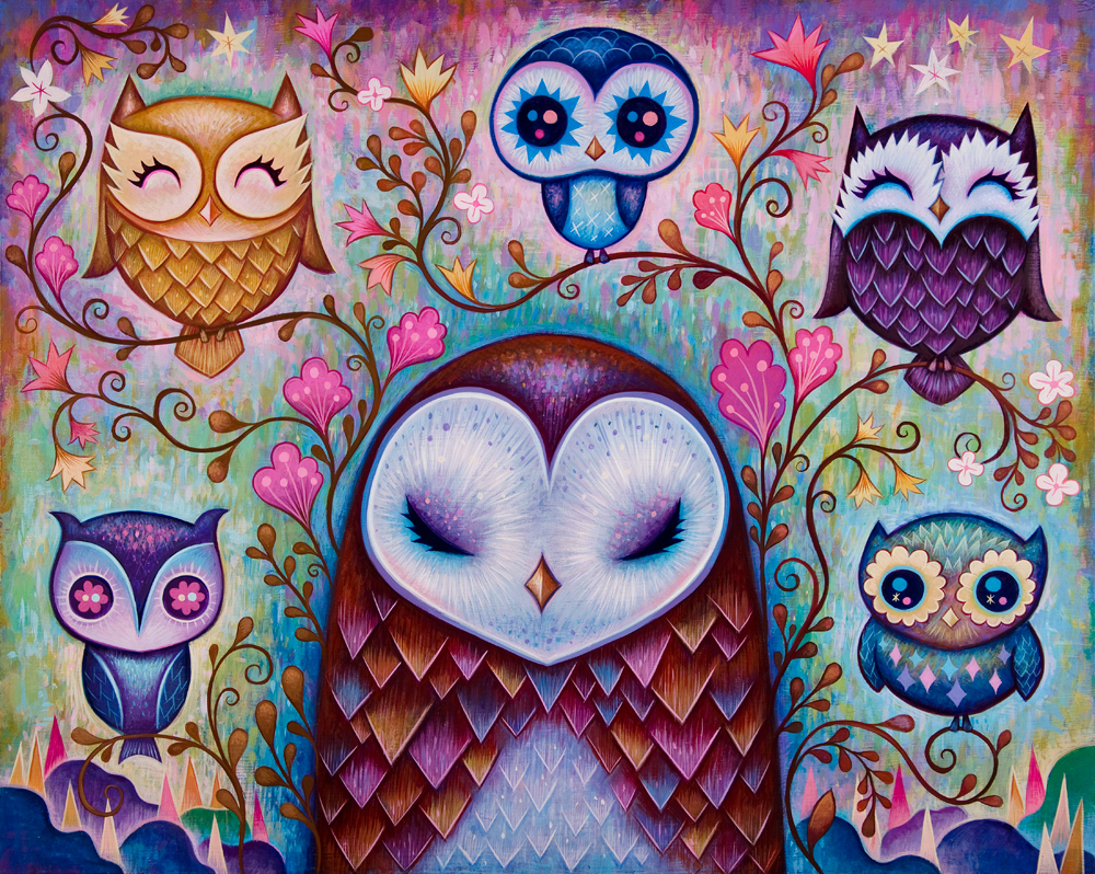 """The Great Big Owl"" by Jeremiah Ketner"