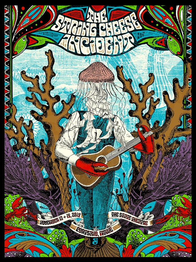 duval String Cheese Incident - Portland, ME 2014