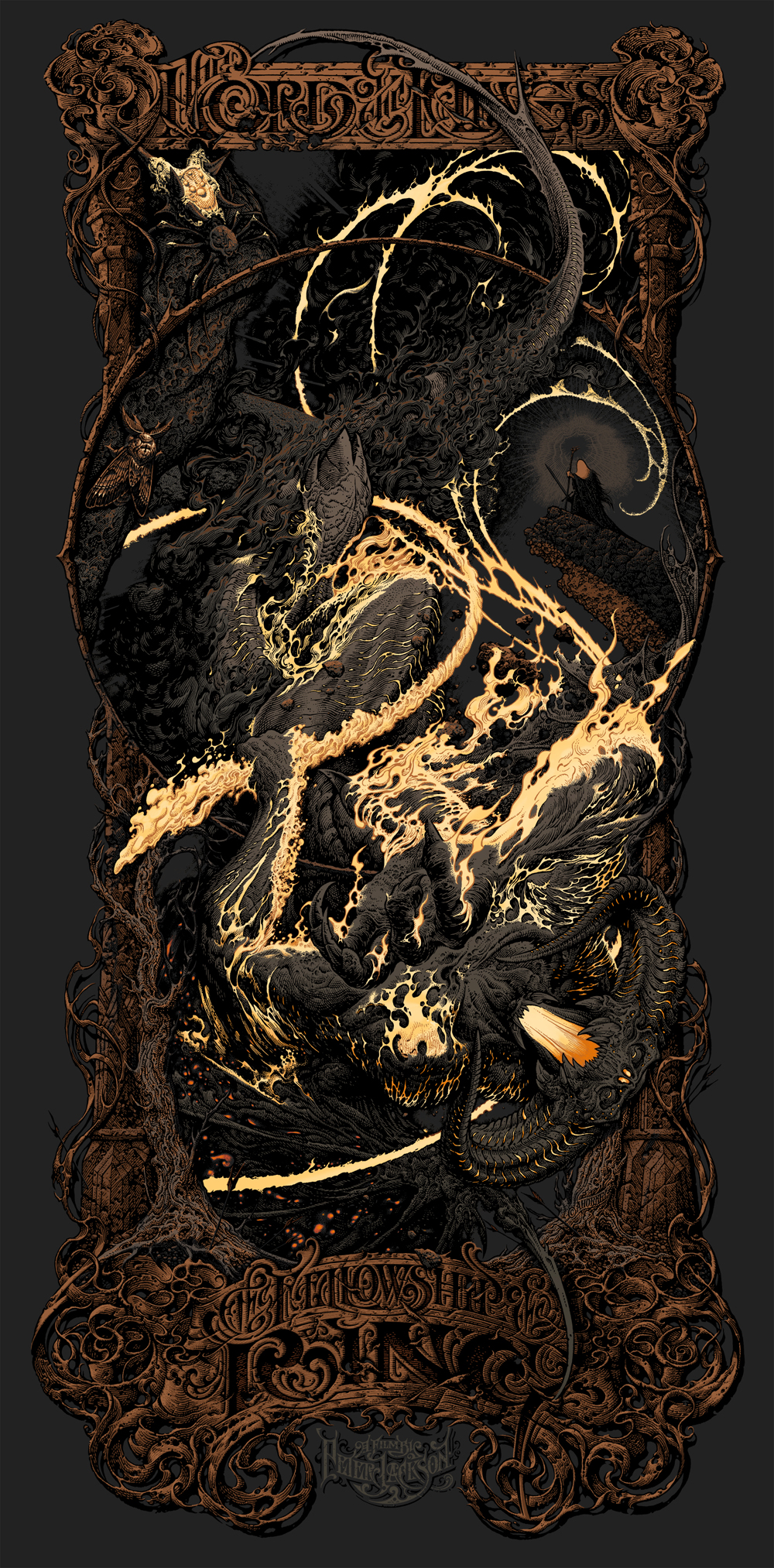 horkey The Lord of the Rings The Fellowship of the Ring variant