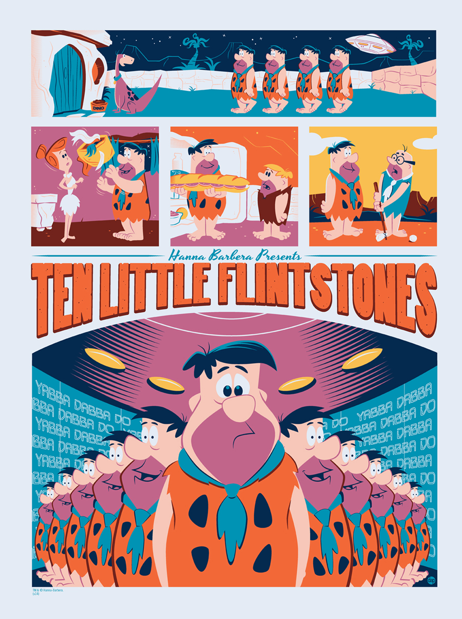 perillo Ten Little Flintstones