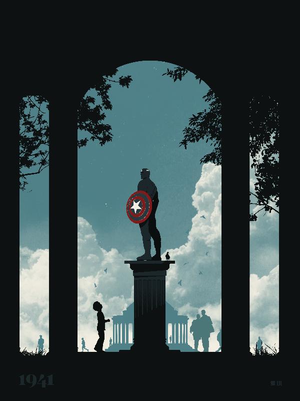 van genderen Captain America Monument