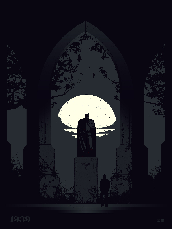 van genderen The Dark Knight Monument variant