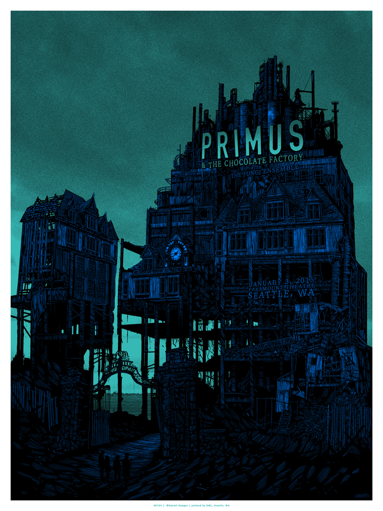 danger Primus - Seattle, WA 2015 green