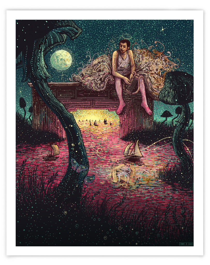 """Orpheus in Love"" by James R Eads.  16"" x 20"" Giclee.  Ed of 60 S/N.  $45"