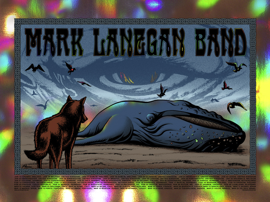 hampton Mark Lanegan Band foil