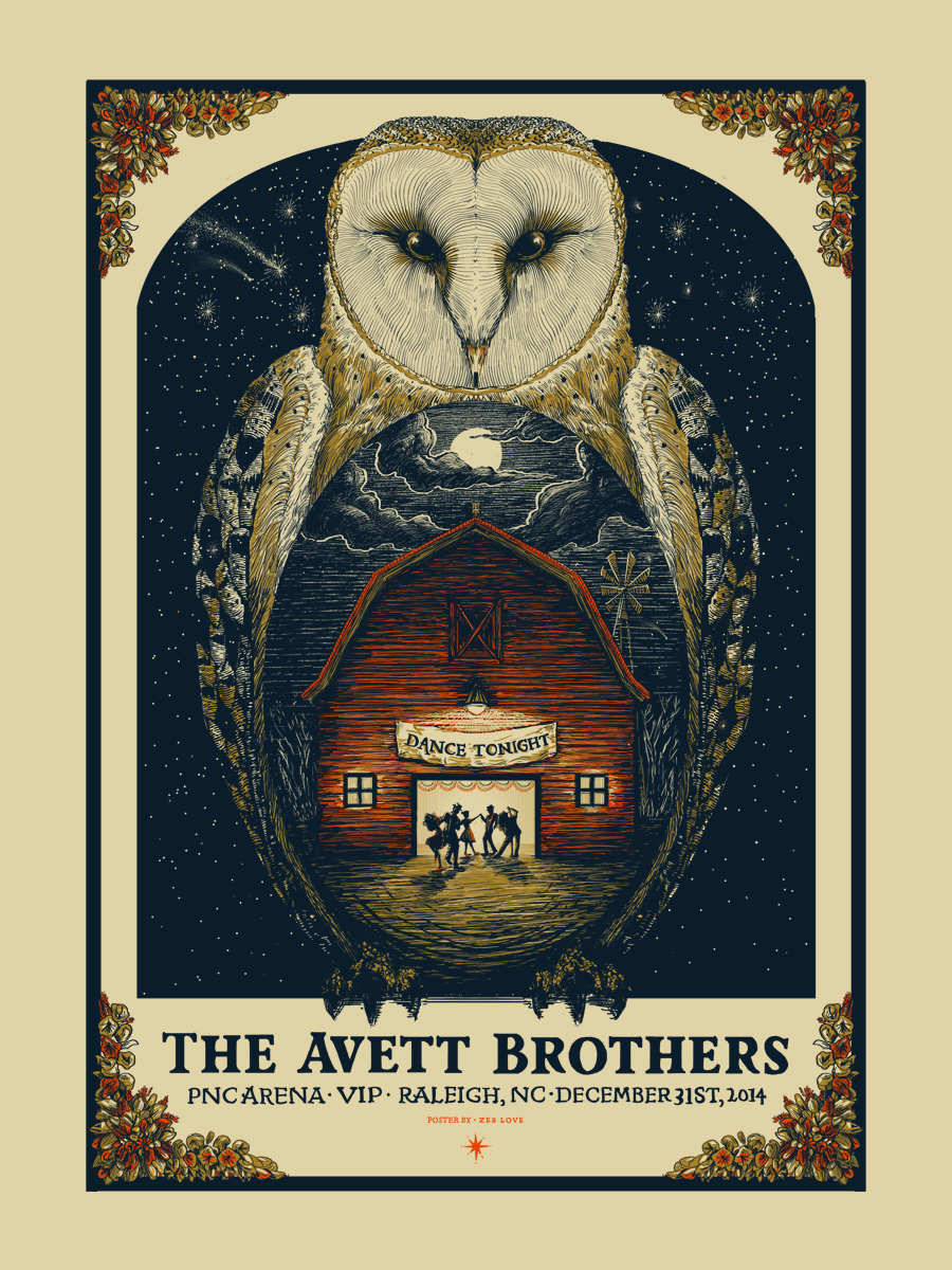 love the avett brothers raleigh nc 2014