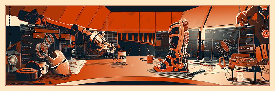 Loukotka the desk of mr stark
